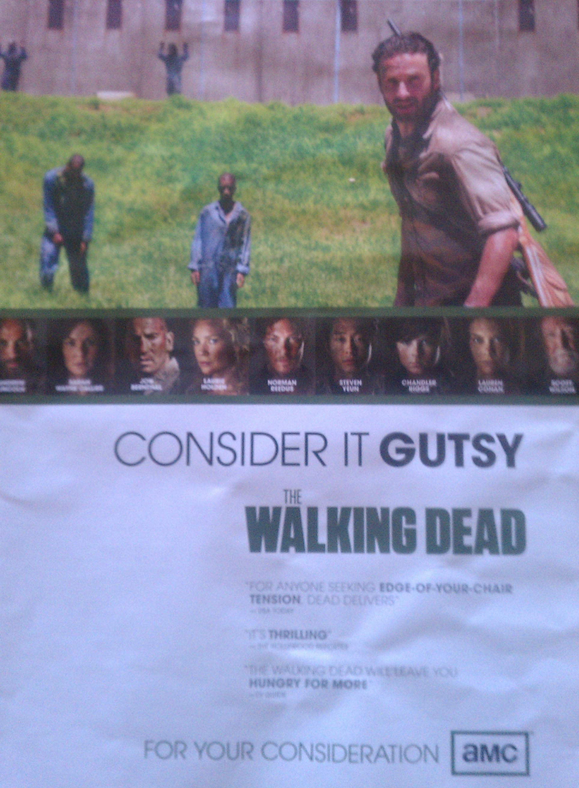 Consider It Gutsy in My Zombies Blog