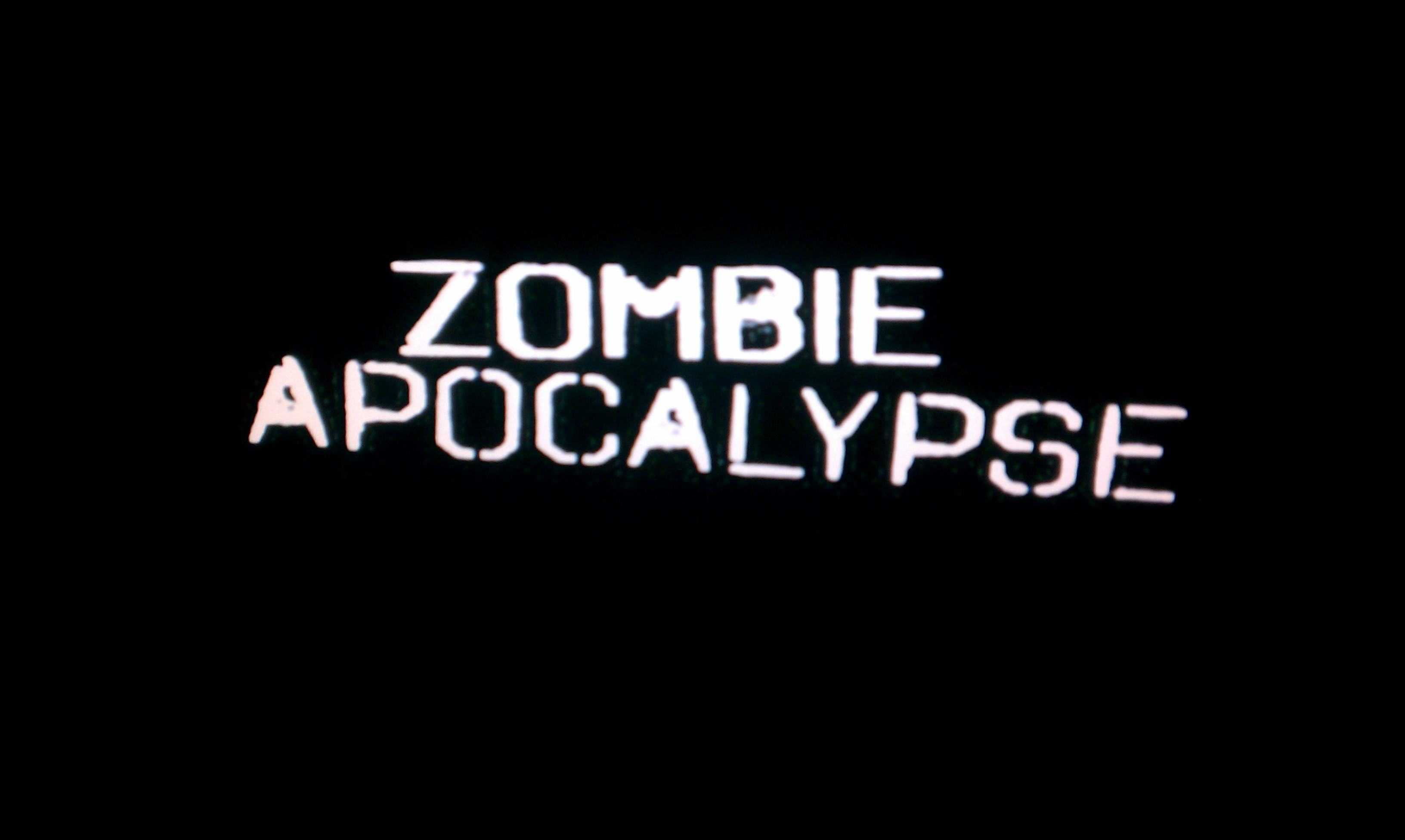 Discovery's Zombie Apocalypse in My Blog