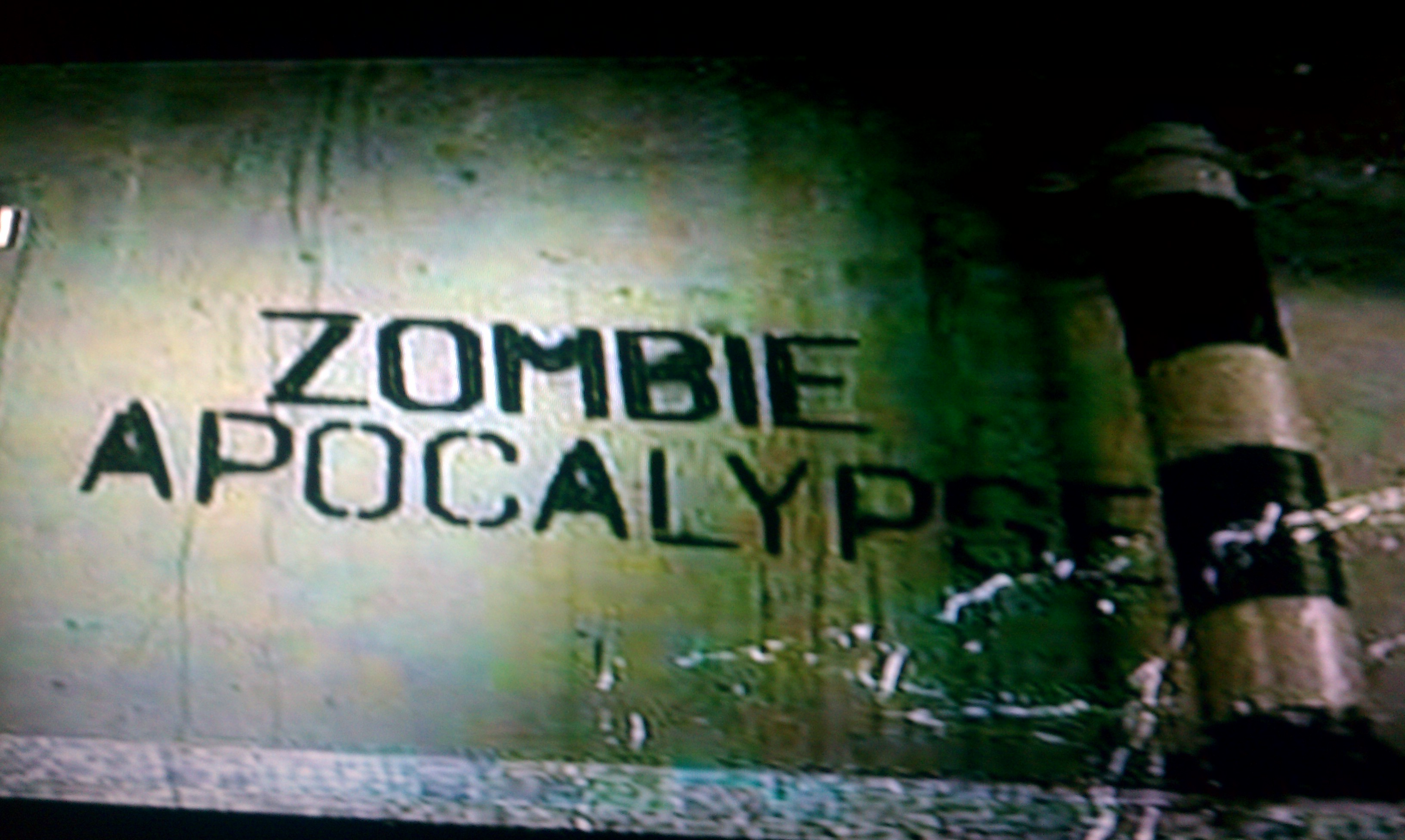 Yet Another Zombie Apocalypse in My Blog