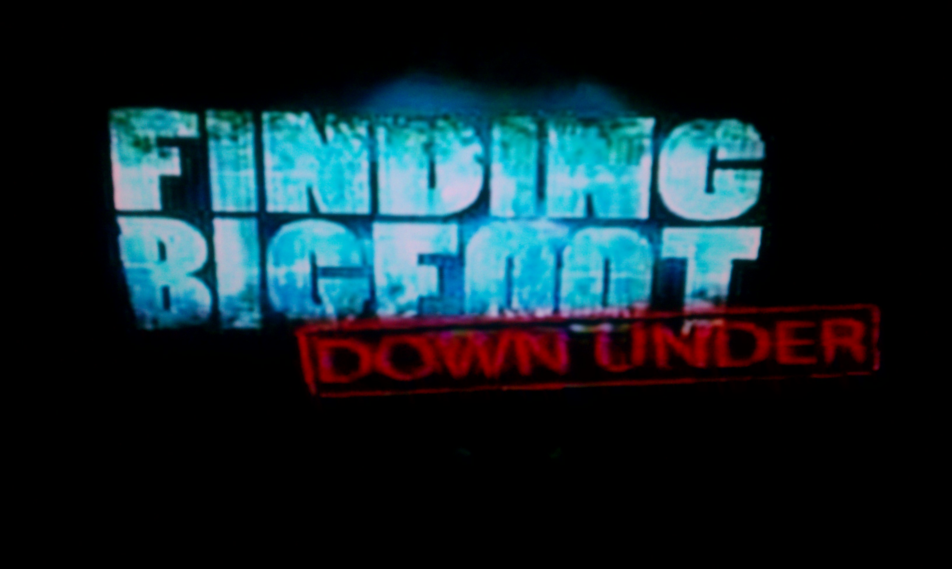 Finding Bigfoot Down Under In My Zombies Blog