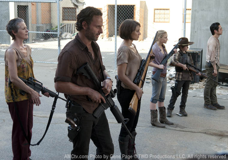 Walking Dead Battle Line in My Zombies Blog