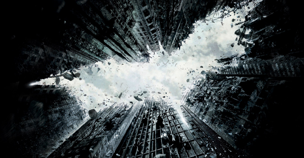 The Dark Knight Rises in My Zombies Blog