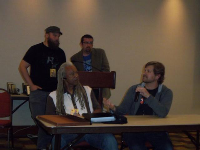 Dave Fennoy & Gavin Hammon In My Zombies Blog