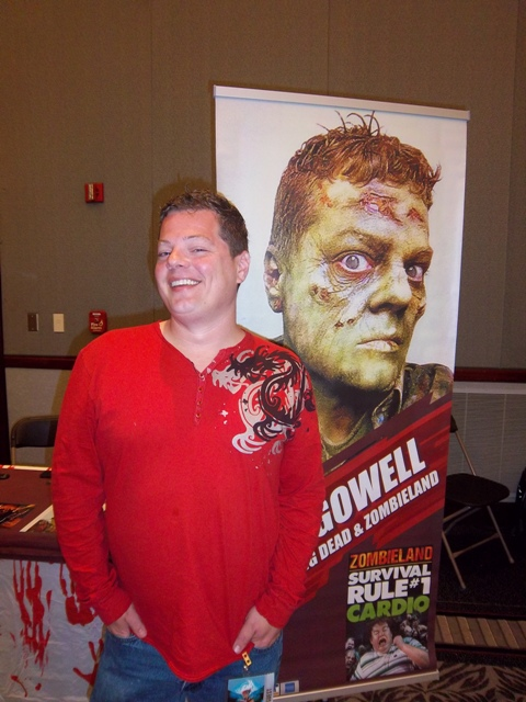 Tony Gowell of The Walking Dead