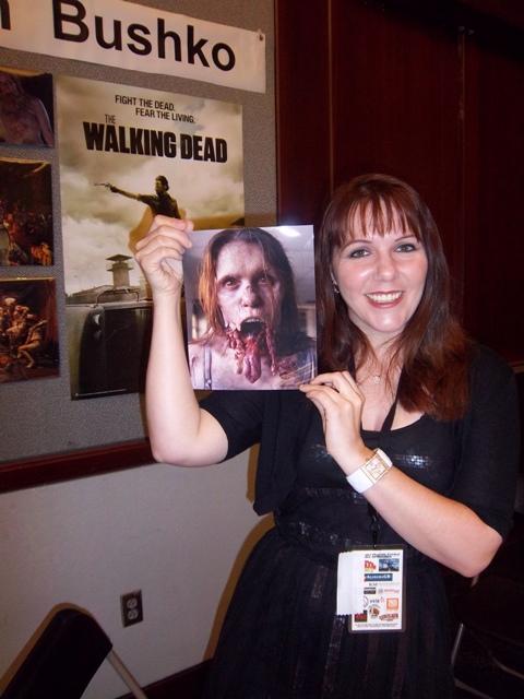 Erin Bushko is The Jawless Zombie