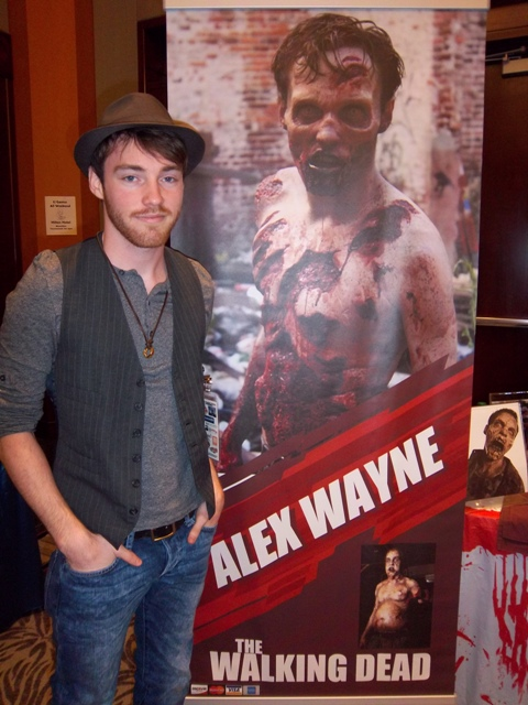 Alex Wayne of The Walking Dead
