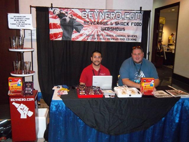 Bev Nerd booth at Alabama Phoenix Festival