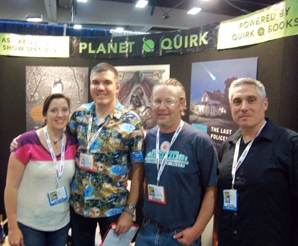 The Quirk Books Crew at SDCC