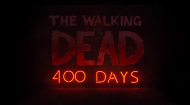 400 Days title screen