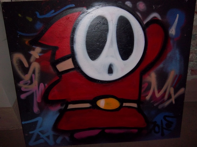 Shy Guy Graffiti