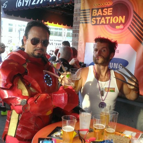 Drunk Superheroes @ SDCC