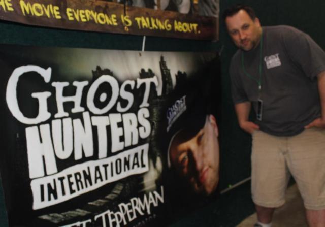 Ghost Hunter Scott Tepperman