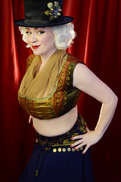 MUH and Photography by Pin Up Girl Cosmetics