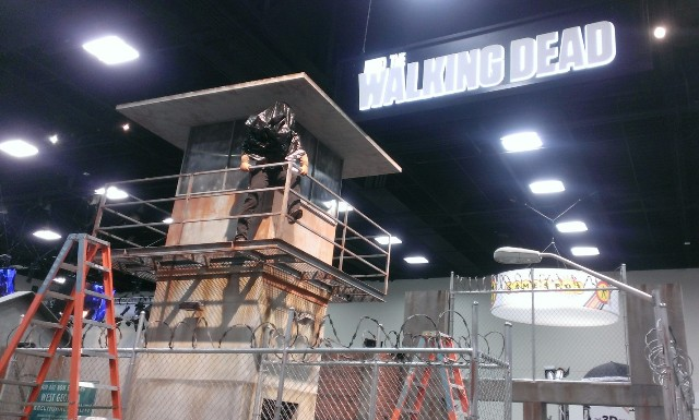 Building The Walking Dead @ SDCC