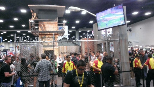 The Walking Dead Chaos @ SDCC