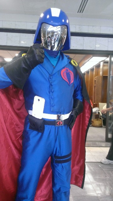 Hail Cobra! At Dragon Con 2013!