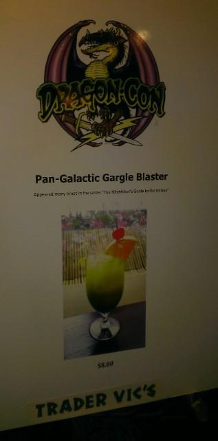 Dragon Con Gargle Blaster