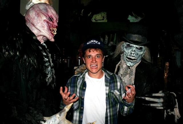 Josh Hutcherson at Netherworld