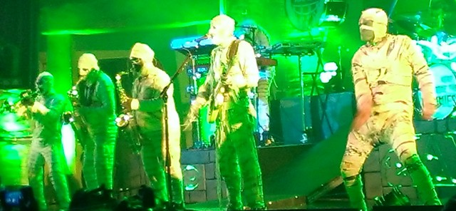 Here Come The Mummies Nashville