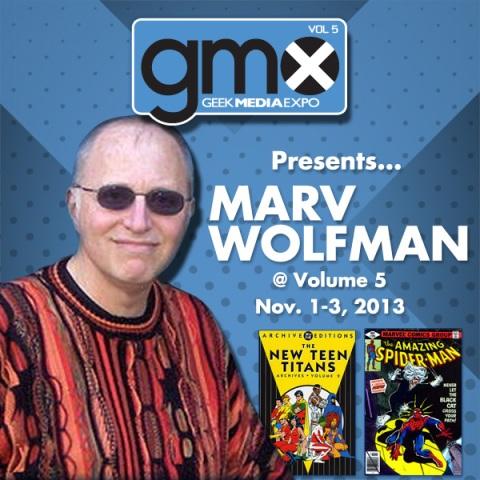 Marv Wolfman GMX