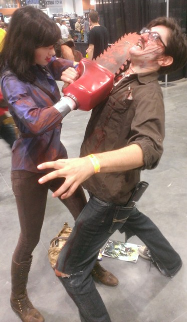 Army of Darkness Cosplayers
