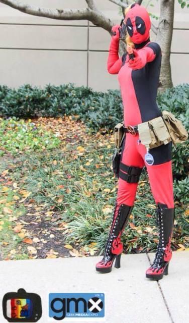 Lady Deadpool is On Target