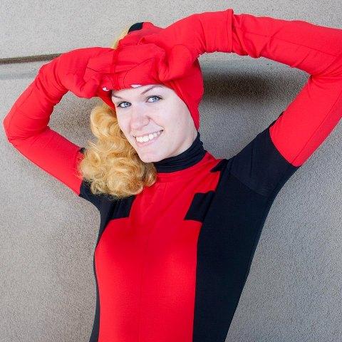 Unmasking Lady Deadpool