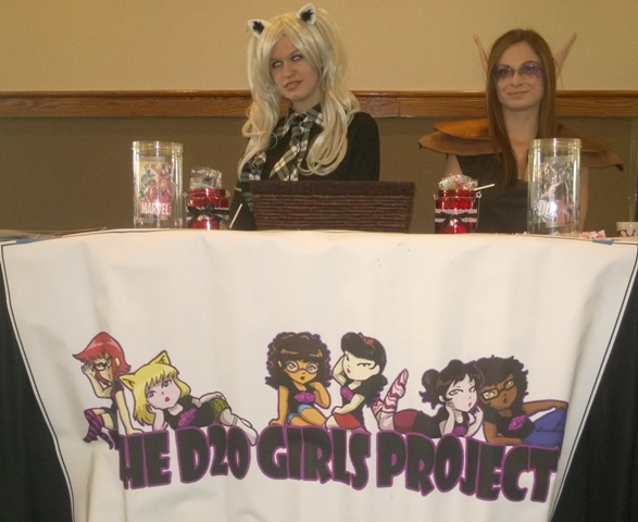 D20 Girls Table