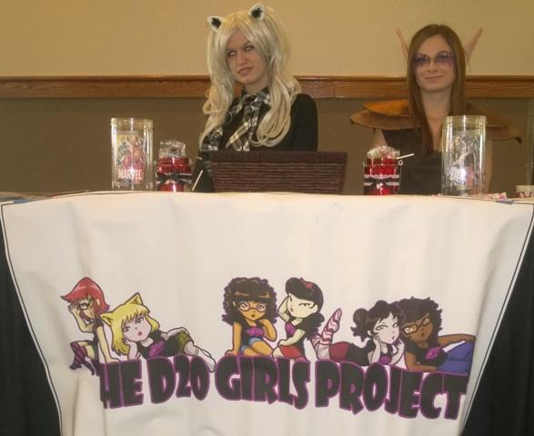 D20 Girls Table