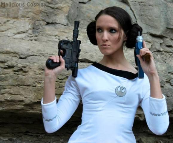Princess Leia Starfleet Officer