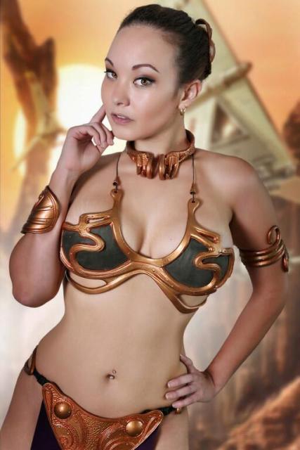 Ani-Mia's Slave Leia