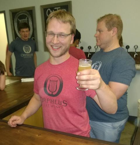 Orpheus Brewing President and Brewmaster Jason Pellett