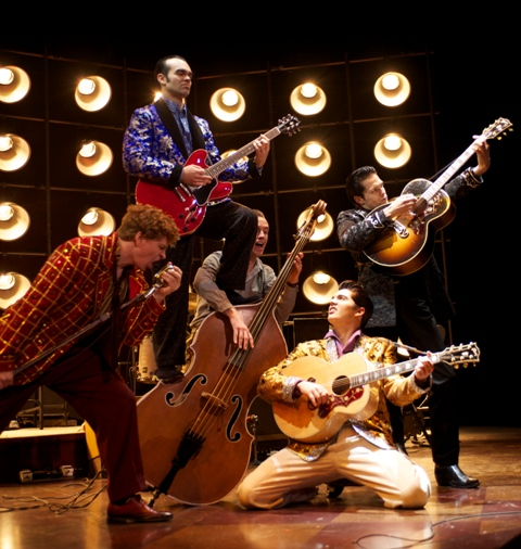The National Tour of Million Dollar Quartet (Photo by Paul Natkin).