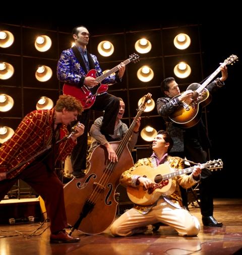 The National Tour of Million Dollar Quartet (Photo by Paul Natkin).
