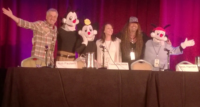 Animaniacs Reunion Momocon 2014
