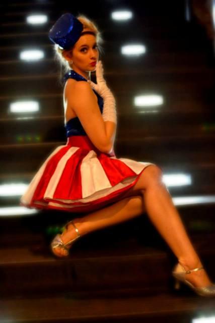 Sjay's Captain America USO Girl