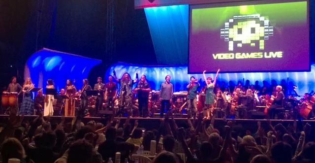 Video Games Live Finale SDCC 2014