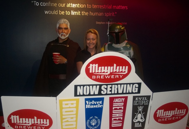 Mayday Brewing Meets the Dark Side