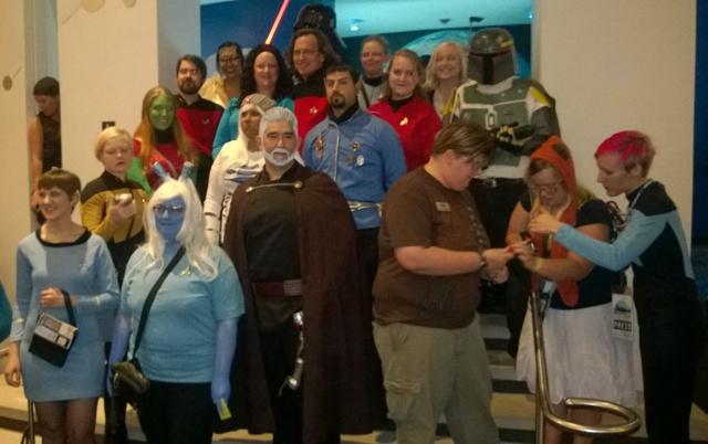 Star Wars vs. Star Trek Costume Contest