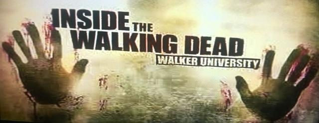 Inside the Walking Dead Walker University