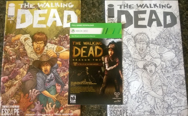 The Waking Dead Escape Collectibles
