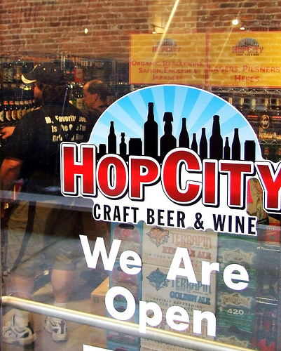 Hop City ATL Sign