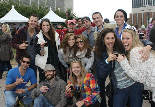 Nashville Beer Festival group photo