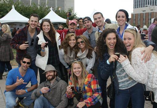 Nashville Beer Festival group photo