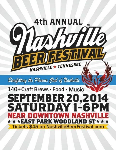 Nashville Beer Fest poster