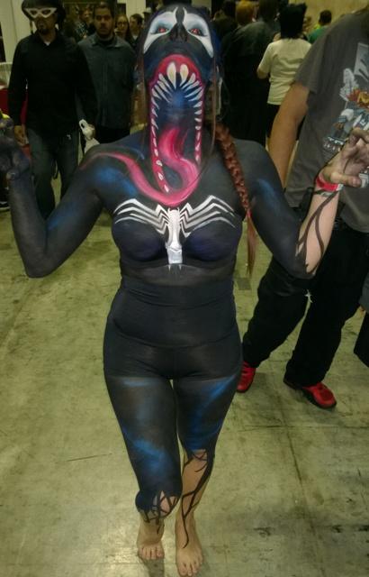 Body Paint Venom