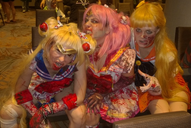 Zombie Sailor Moon Soldiers