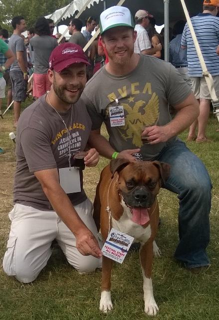 Nash Beer Fest Dog Group