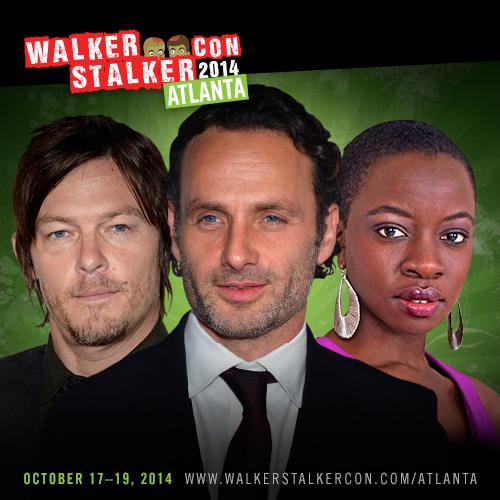 Walker Stalker ATL Guests