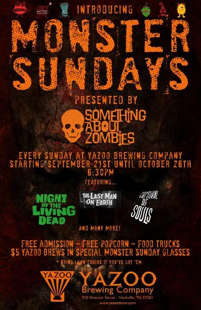 Monster Sundays @ Yazoo